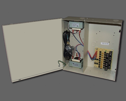 AC 8-2-2UL - 8 output PTC protected 8.4 amp 24VAC power supply